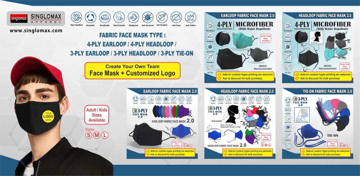 Singlomax Apparel _ Fabric Face Mask